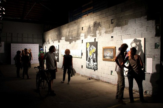Goin - Ocean Climax Festival Art Show- Darwin / Bordeaux (FR) - 2015