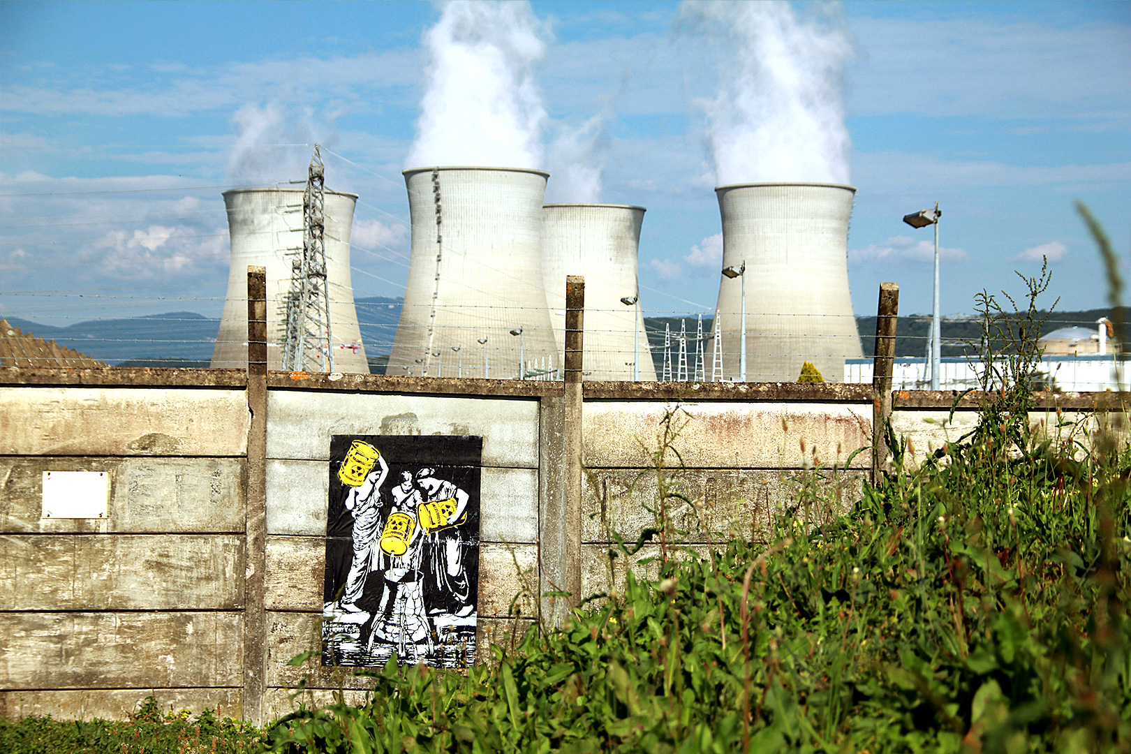 Goin - FUKUSHIMA DANAIDS - Bugey Power Plant - France 2014