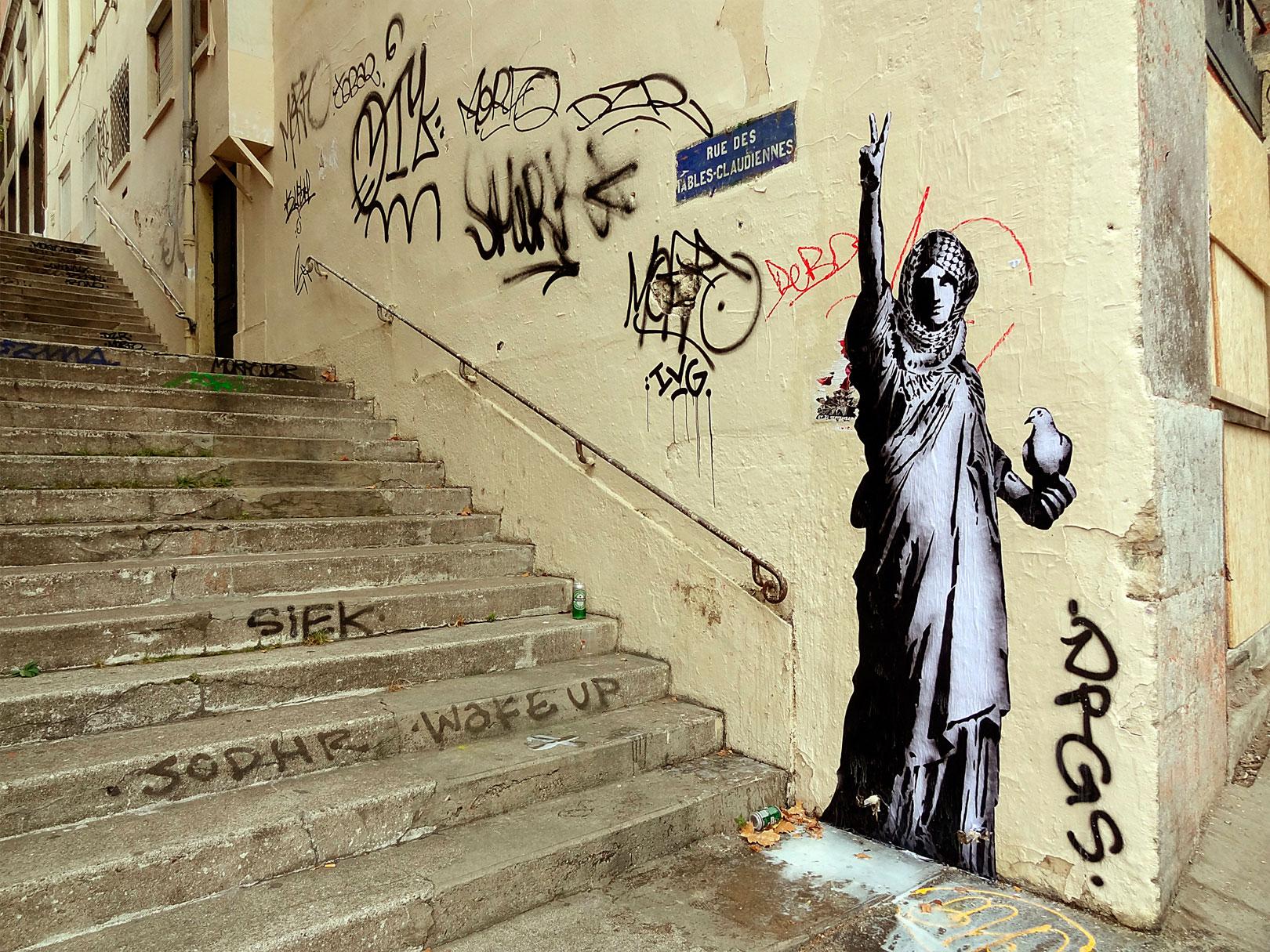 Goin - Lady Gaza - Lyon 2014