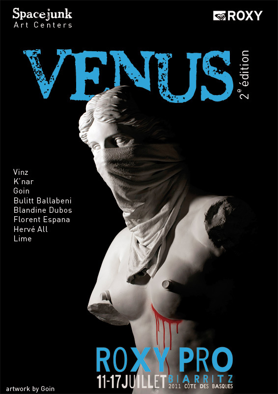 Venus II charity show - Spacejunk Gallery - Goin