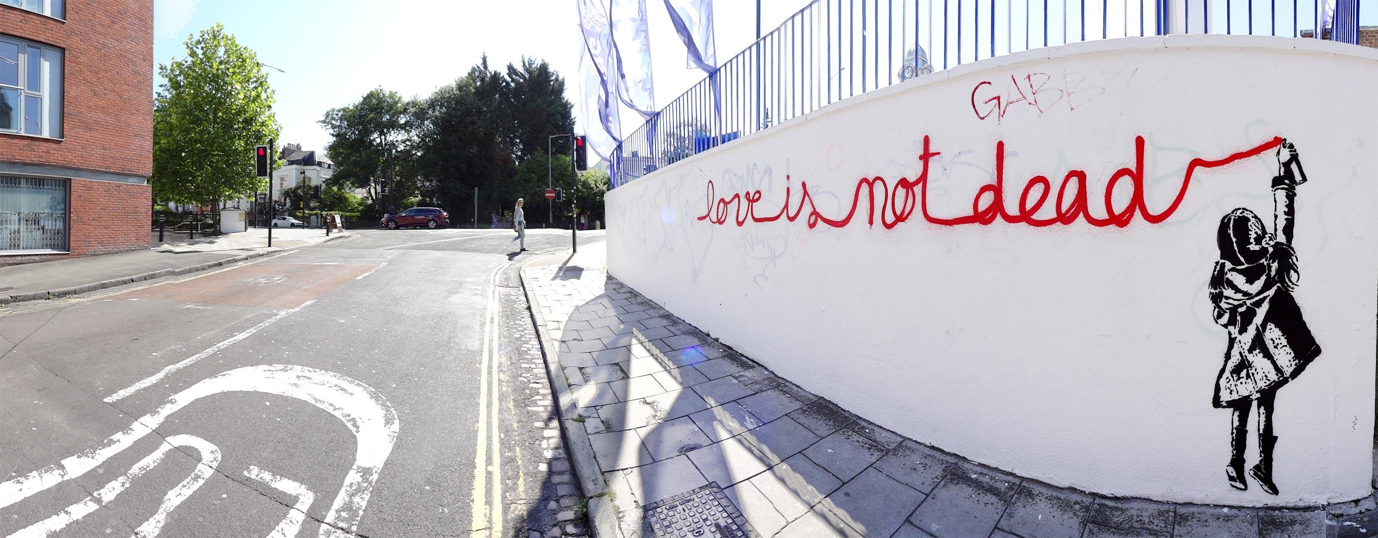 Goin - LOVE IS NOT DEAD - Bristol (UK) - 2015
